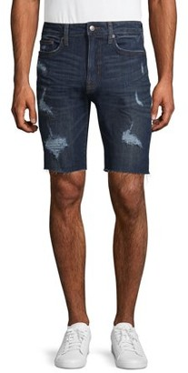 "No Boundaries Men's 9 1/2"" Denim Shorts"