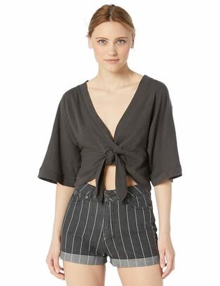 Splendid Women's Short Sleeve Kimono Style Tee