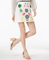 Cynthia Rowley CR By Printed Mini Skirt, Only at Macy's