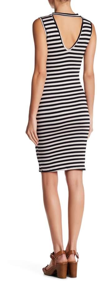 Blvd \nStriped Bodycon Dress