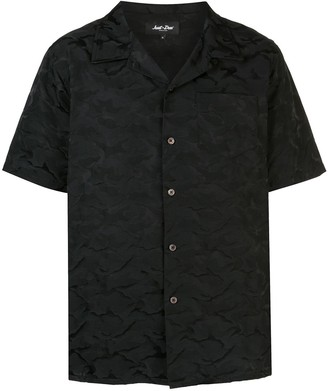 Just Don Camouflage Print Shirt