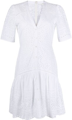 Veronica Beard Eve embroidered day dress
