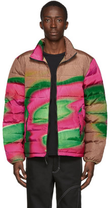 The Very Warm Multicolor Artist Liteloft Puffer Jacket
