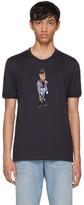 Dolce & Gabbana Navy Royal Cougar T-Shirt