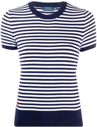 Polo Ralph Lauren Striped Short-Sleeve Top