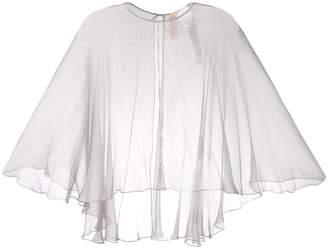 Maria Lucia Hohan mousseline cape