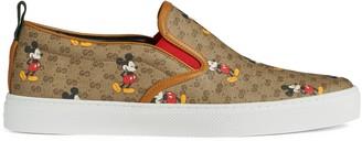 Gucci Men's GG Disney x slip-on sneaker