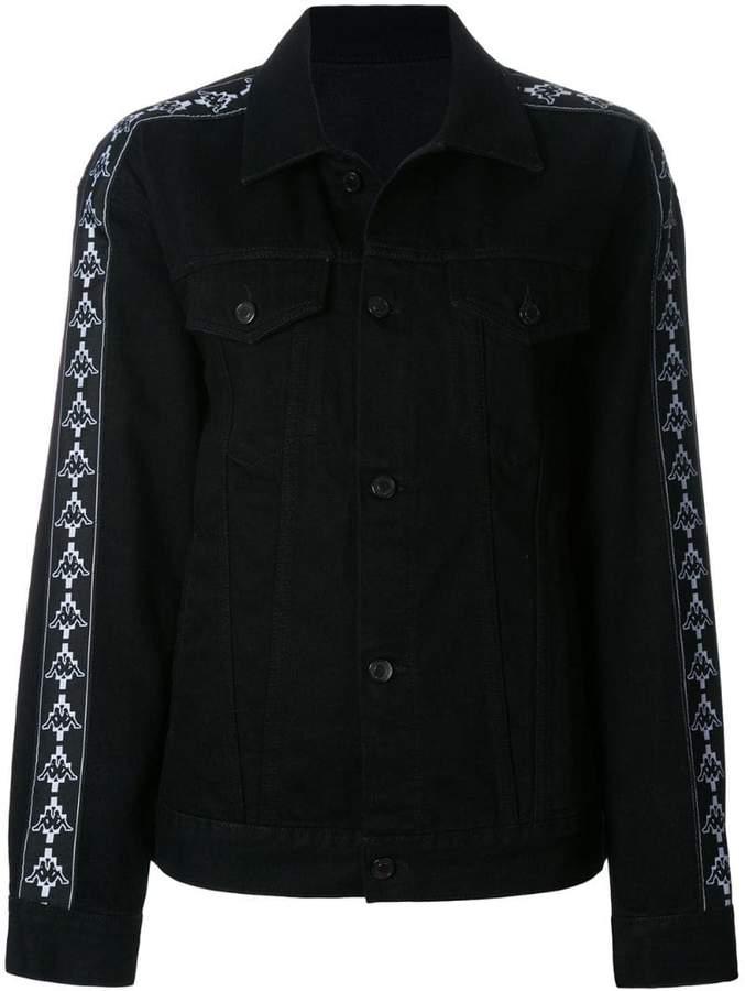 Marcelo Burlon County of Milan Kappa denim jacket