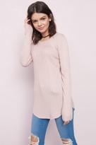 Garage Semi-Fitted Sweater Tunic Top