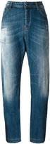Twin-Set high-rise tapered jeans - women - Cotton/Spandex/Elastane - 26