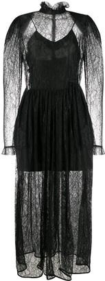 MSGM Sheer Lace Dress