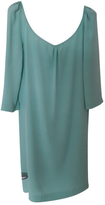 Tara Jarmon Green Silk Dresses