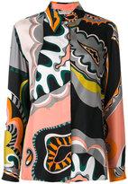 Emilio Pucci retro pattern blouse