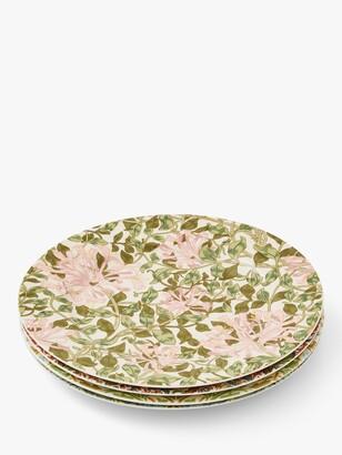 Morris & Co. Spode Cake Plates, Set of 4, 21.5cm, Multi