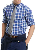 Brunello Cucinelli Cotton Check-Print Sport Shirt