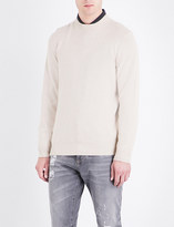 Brunello Cucinelli Ribbed-collar cashmere jumper