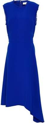 Sachin + Babi Nurul Frayed Stretch-crepe Dress