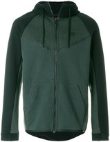 Nike tech fleece colourblock windrunner jacket