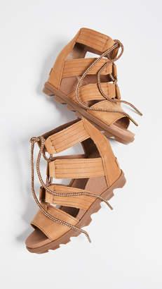 Sorel Joanie II Lace Wedge Sandals