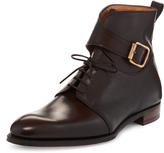 Vivienne Westwood Rasputin Ankle Boots Brown Size UK 6