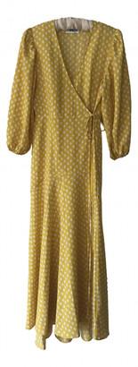 Essentiel Antwerp Yellow Polyester Dresses