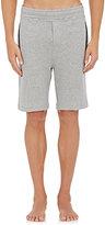 Hamilton and Hare Men's Mélange Jersey Lounge Shorts-GREY