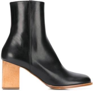 Christian Wijnants leather ankle boots