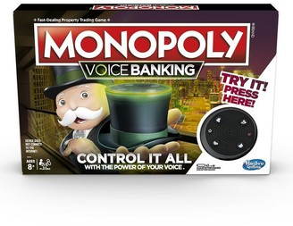 Hasbro Monopoly Voice Banking English