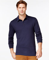 Cutter & Buck Men's Big and Tall Belfair Pima Long-Sleeve Polo