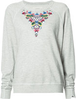 The Great heart patch jumper - women - Cotton/Rayon - 0