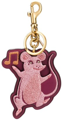 Coach Musical Mouse Keychain