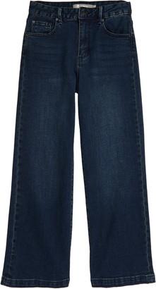 Tractr Crop Wide Leg Jeans
