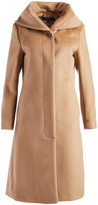 Cole Haan Camel Wool-Blend Trench Coat