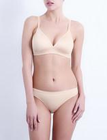 Wacoal Basic Beauty jersey soft-cup contour bra