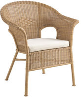 Pier 1 Imports Casbah Light Brown Stacking Chair