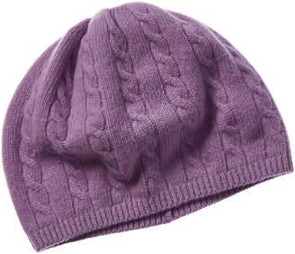 Portolano Cable Cashmere Hat