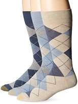 Gold Toe Men's Classic Cotton Argyle 3-Pack Sock
