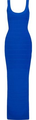Herve Leger Split-back Bandage Gown