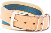 Shinola Nylon Striped G10 Belt