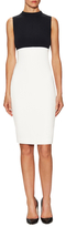 Narciso Rodriguez Sleeveless Two Tone Banded Dress