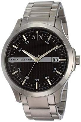 Armani Exchange Men's AX2103 Silver Watch