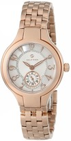 """Philip Stein Teslar Women's 44RGP-FMOP-SS5RGP """"Round Collection"""" Rose Gold-Plated Watch"""
