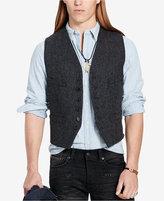Denim & Supply Ralph Lauren Men's Slim-Fit Tweed Vest