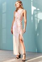 Glamorous Iridescent Sequin Maxi Dress
