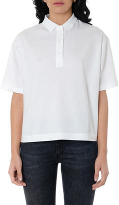 Dondup Cut-out Back Panel Cotton Polo Shirt