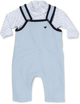 Armani Junior Overall And Tee Set