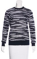 A.L.C. Wool Tiger Patterned Sweater