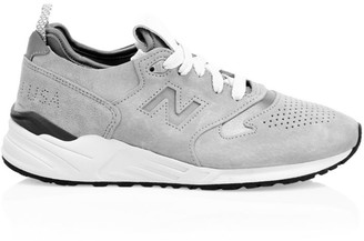 New Balance 999 Made in USA Suede Sneakers