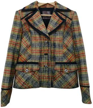 Mariella Rosati Multicolour Wool Jacket for Women