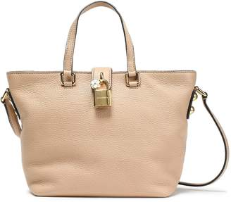 Dolce & Gabbana Dolce Small Pebbled-leather Tote